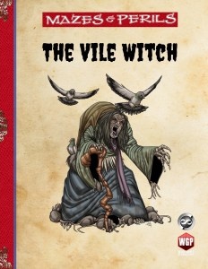 Mazes & Perils Vile Witch cover medium